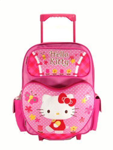 Rolling Backpack - Hello Kitty - Garden (16