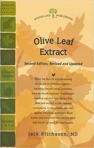 Olive Leaf Extract (Woodland Health): Jack Ritchason ND