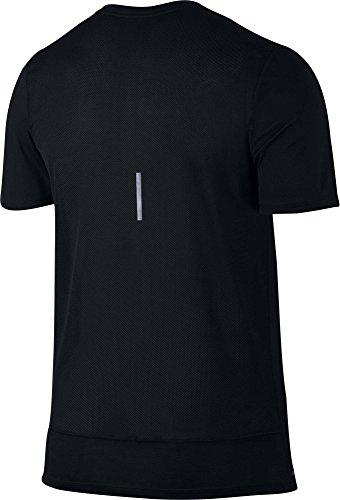 Nike Men's T-Shirt Breathe Rapid Top (M, Black)