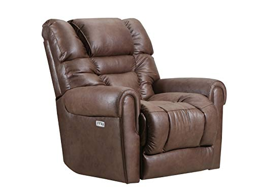 Mocha Glider Recliner - Lane Home Furnishings 4210P-1601 Gatlin Mocha Power H&M Glider Recliner Medium