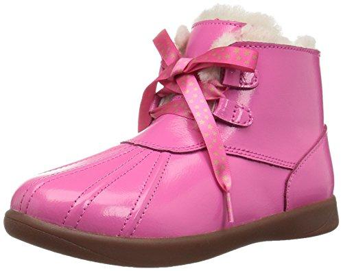 UGG Girls T Payten Stars Boot, Diva Pink, 12 M US Little Kid