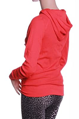 Emmalise Women's Athletic Thermal Hoodie Sweat Shirt