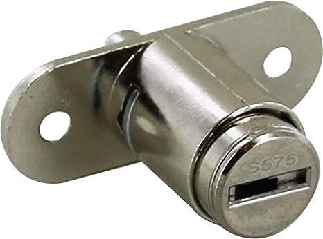 Cerradura con pulsador Zamack - Ojmar: Amazon.es: Bricolaje y herramientas
