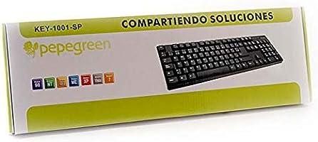PepeGreen KEY-1001-SP - Teclado: Amazon.es: Informática