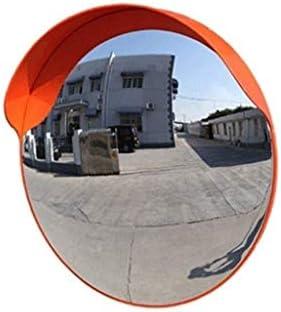 Geng カーブミラー 道路ガレージ路地のトラフィックミラー丈夫なポータブル広角多機能凸面鏡