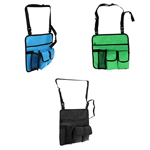 MagiDeal 3 Pieces Portable Beach Seat Stool Chair Hanging St