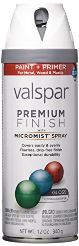 Valspar 410-85000 SP Multi-Surface Enamel Spray Paint, 12 Oz Aerosol Can, White