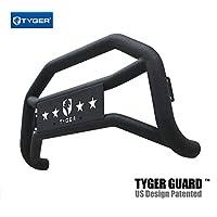 Tyger Auto TG-GD6F60238 Front Bumper Guard Fits 2005-2007 Ford F250/350/450/550 Super Duty | Textured Black | Light Mount | Bull Bar