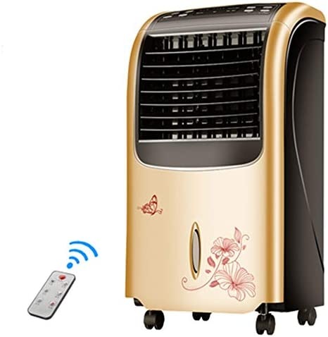 XEWNG シングルコールドリモコンエアコンファン、家庭用静かな蒸発クーラーモバイル冷凍空調ファン、80ワット