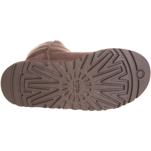 Kid's UGG Bailey Button Triplet,Chocolate,size 1 by UGG (Image #3)