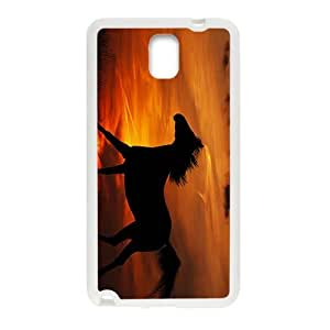 Glam Sunset Horse Custom Protective Hard Phone Cae For Samsung Galaxy Note3
