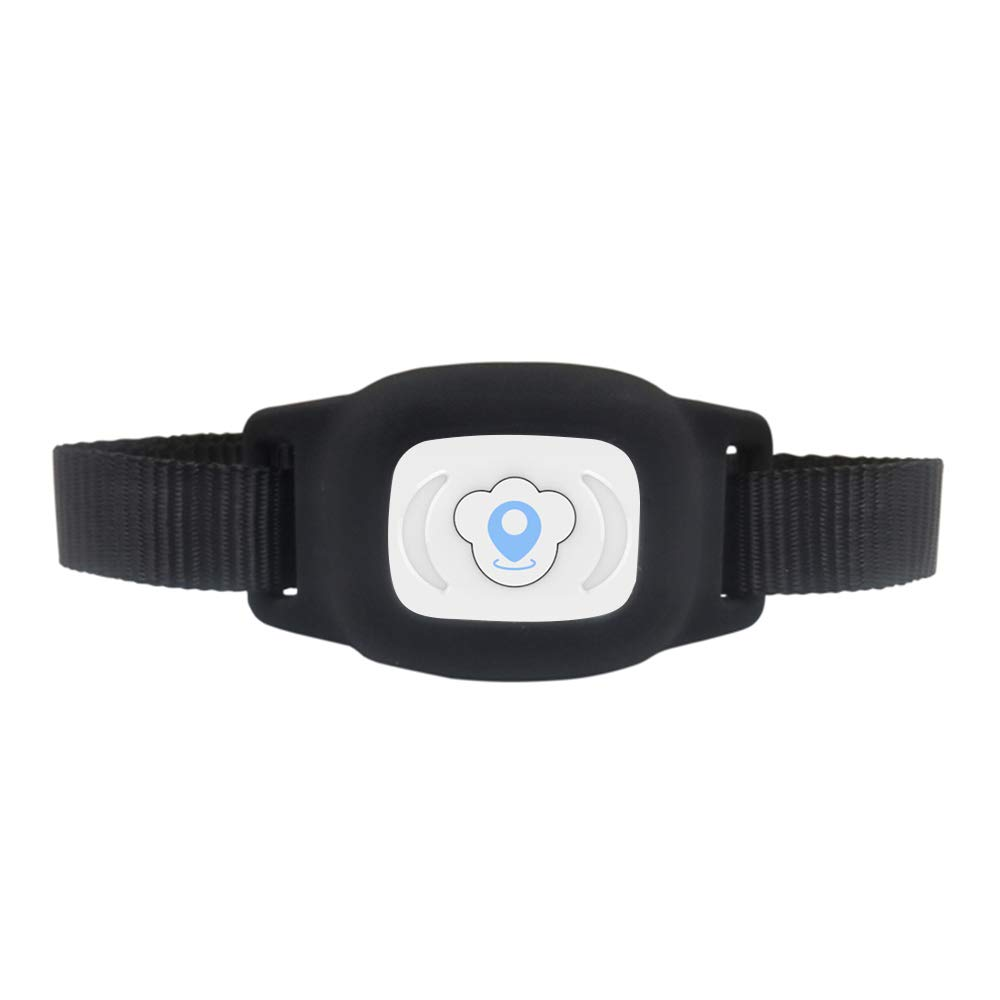 Festnight FT01 Mini Pet GPS AGPS LBS Tracking Tracker Collar Smart Waterproof IP67 for Dog Cat AGPS LBS SMS Positioning Geo-Fence Track Device