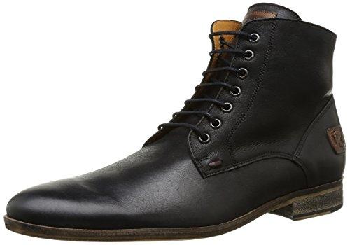 Kost Kirvan51 - Zapatos de Cordones de cuero hombre negro - negro