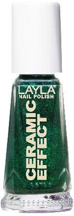 Esmalte verde para uñas