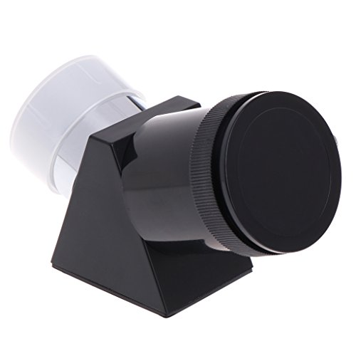 Hukai 1.25'' 45 Degree Zenith Mirror Astronomical Telescope Eyepiece Diagonal Adapter by Hukai