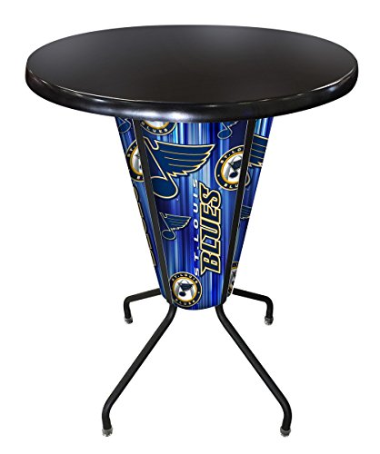 Lighted Outdoor Stool Table - 2