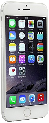 Apple iPhone 6 Celular 16 GB Color Plata Desbloqueado (Unlocked) Reacondicionado (Refurbished)