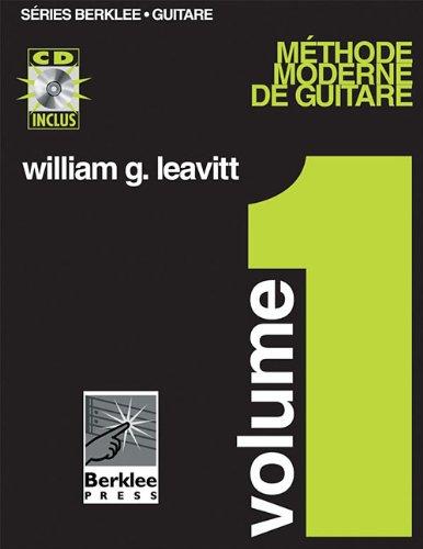 FRENCH MODERN METHOD FOR     GUITAR VOLUME 1 BK/CD