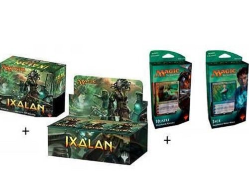Magic the Gathering: Ixalan Booster Box + Bundle + Both Planeswalker Decks! MTG Variety Pack Perfect for Collectors by Magic The Gathering