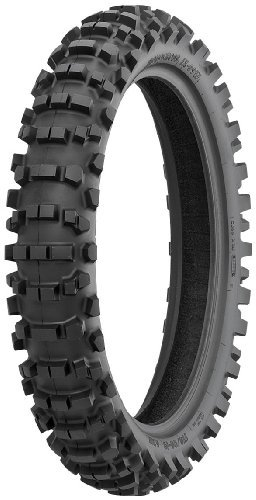 IRC iX-09W Tire - Rear - 120/80-19 , Position: Rear, Tire Size: 120/80-19, Tire Construction: Bias, Tire Type: Offroad, Rim Size: 19, Load Rating: 63, Speed Rating: M, Tire Application: Intermediate 111451
