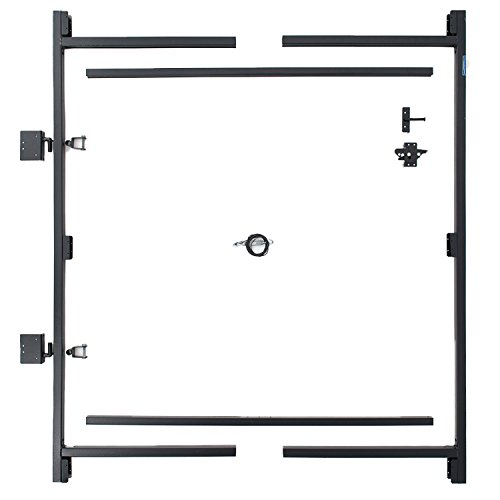 Single Drive Fence Gate - Adjust-A-Gate Steel Frame Gate Building Kit (60
