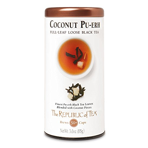 Republic Tea Coconut Pu Erh Full Leaf