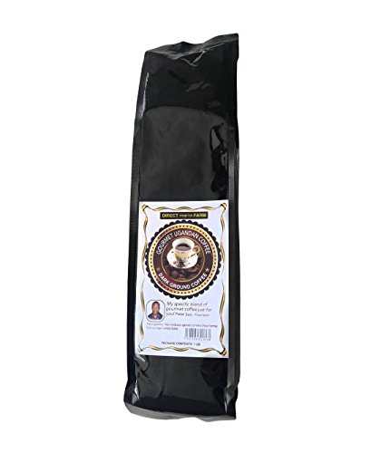Peterson Sozi Farms Premium Ugandan Ground Coffee (dark roast)