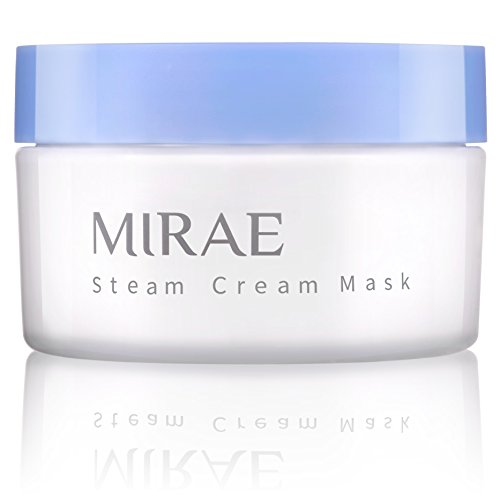 MIRAE Beauty Steam Cream Night Time Sleeping Mask - Smooth Fine Lines, Lock in Moisture and Nourishes Tired, Dehydrated Skin, For Dewy Glow To Your Skin 3.4 fl. Oz