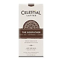 Celestial Seasonings The Godfather Chai Tea Latte Concentrate, 32 Fluid Ounce (Pack of 6) by Celestial Seasonings