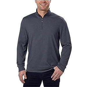 Best Epic Trends 41yaLK5PiJL._SS300_ Calvin Klein Jeans Men's 1/4-Zip Pullover