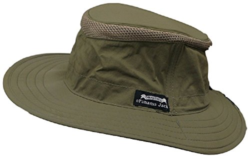 Panama Jack Men's Crown Pocket Boonie Hat (Large/X-Large, Olive) (Panama Jack Polarisierten Sonnenbrillen)