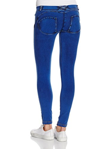 Leggings 8 Donna FREDDY Blu Pantalone 7 gwxfO