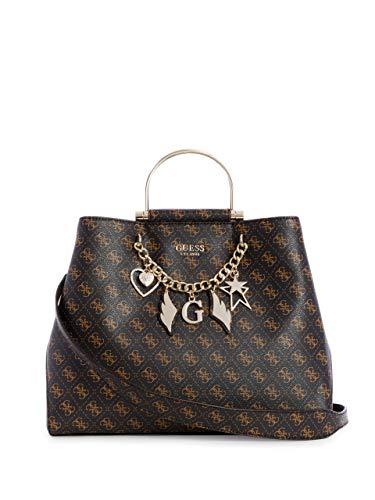 Guess Woman Shopping Bag Mod Affair 3 compartiments Col. Brown Bs19gu01 Brown