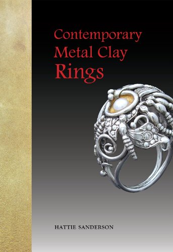 - Contemporary Metal Clay Rings