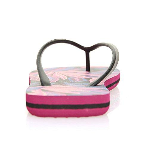Black Oneill 2 Pink Sandals AOP Print Tropadelic nq1PTPt0w