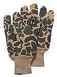 BlackC Sport Sportsman's Fleece Lined Jersey Gloves Camouflage