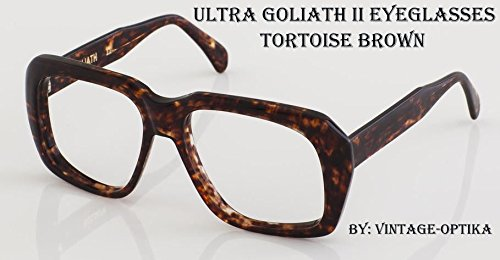 5acef3fba5e49 Image Unavailable. Image not available for. Colour  Ultra Goliath Ii  Eyeglasses Vintage Ocean s 11 Casino Robert De Niro Tortoise