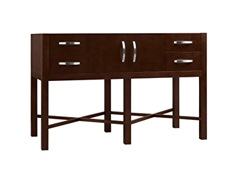 Ronbow Essentials Haley 48 Inches Single Sink Bathroom Vanity In Dark Cherry - 035948-H01