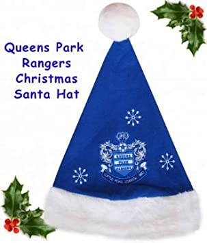 bfdac961aa912 Queens Park Rangers Christmas Santa Hat  Amazon.co.uk  Sports   Outdoors