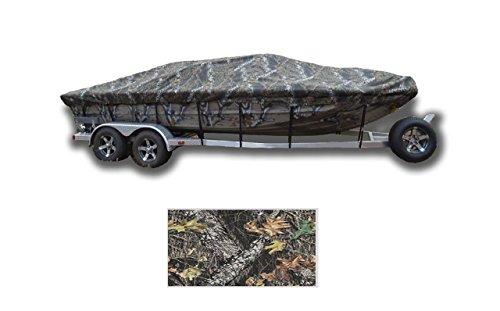 - SBU-CV 8oz Camouflage Mossy Oak Break UP Boat Cover for Bass Tracker/Tracker / SUNTRACKER Tundra 21 Walk-Thru Windshield 2004-2007
