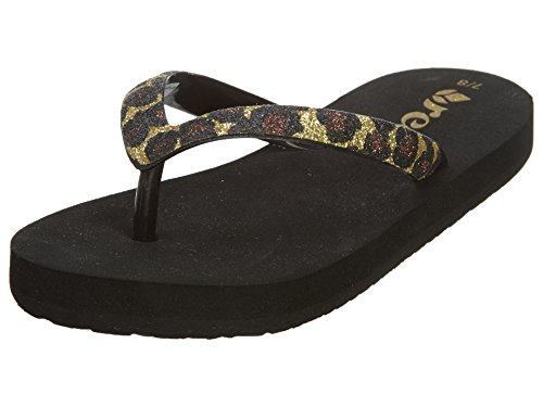 Reef Stargazer Luxe Flip Flop (Toddler/Little Kid/Big Kid),Leopard,7/8 M US Toddler (Reef Uptown Girl)
