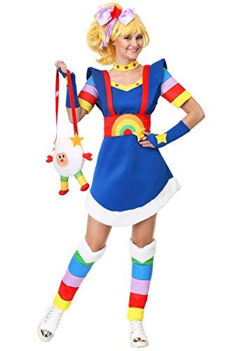 Adult Rainbow Brite Costume Women's Rainbow Brite Costume Large]()