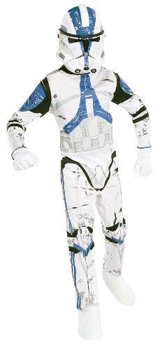 Rubies - Disfraz Clone Wars Star Wars de niño de 5 a 7 años (341021-M)