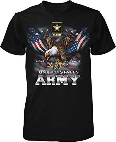 US Army, Since 1775, Eagle with American Flag