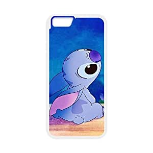 Disneys Lilo And Stitch iPhone 6 4.7 Inch Cell Phone Case White TPU Phone Case SV_044790