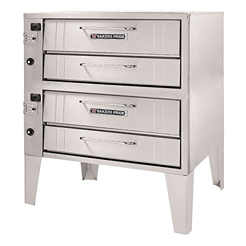 Bakers Pride Convection Flo Double Deck Gas Oven, 48 x 43 x 64 inch -- 1 each.