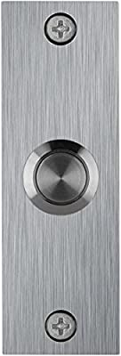 Waterwood Small Rectangle Stainless Steel Doorbell