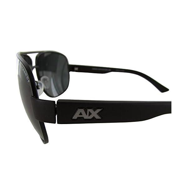 A|X Armani Exchange Men's AX2012S Rectangular Metal Sunglasses
