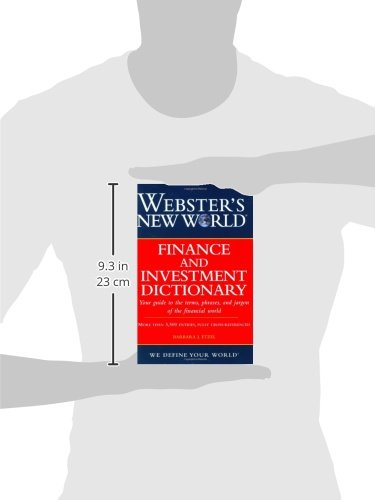Webster's New World Finance and Investment Dictionary by Brand: Wiley Publishing, Inc.