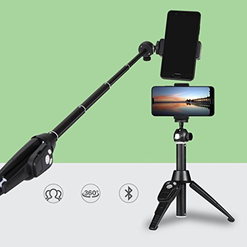 Price comparison product image New Selfie Stick Tripod Universal Monopod Remote Control 360° Clamp for iOS Android Phone